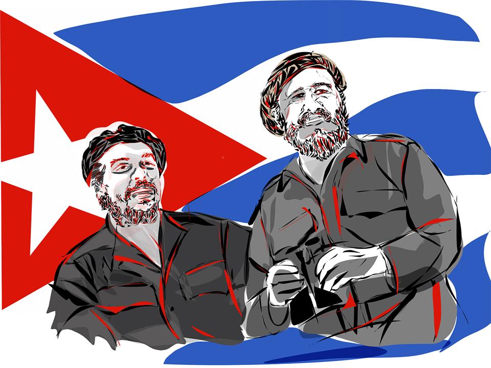 革命家としてのフィデル・カストロとチェ・ゲバラ