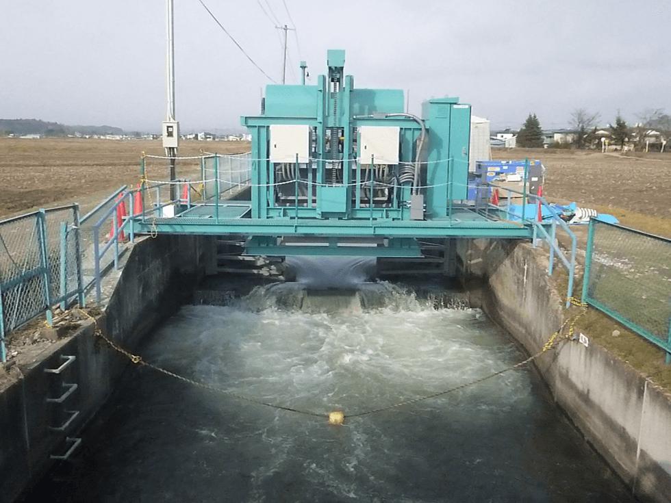 小さな水力発電を日本中数千カ所で行う!