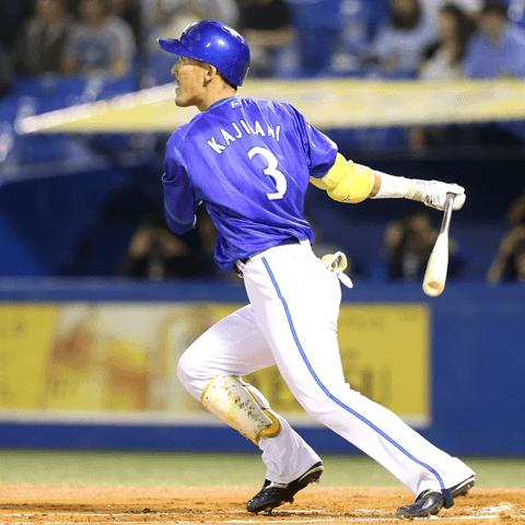 現在本塁打リーグトップの梶谷隆幸(DeNA)