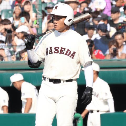 春季東京都野球大会の決勝で2本の本塁打を放った清宮幸太郎(早稲田実業)