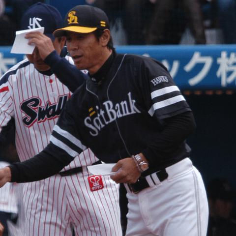 2008年の交流戦1位になるも、後半失速し最下位に沈んだソフトバンク・秋山幸二監督