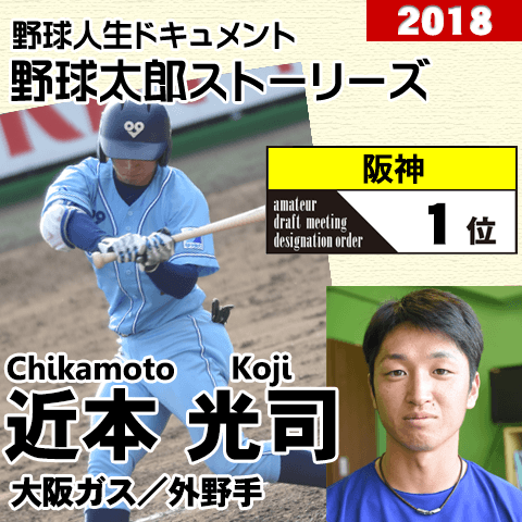 《野球太郎ストーリーズ》阪神2018年ドラフト1位、近本光司。骨の仕組みを追求して橋戸賞受賞の俊足外野手(2)